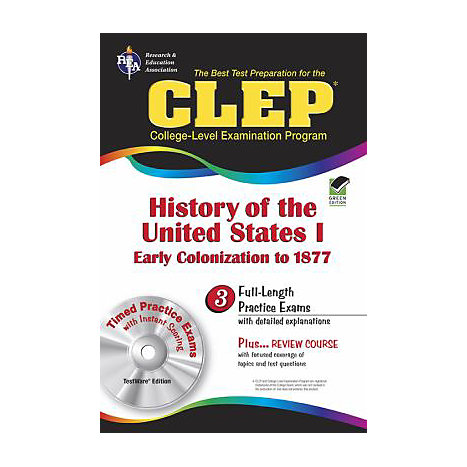 ISBN: 9780878912728, Title: CLEP HISTORY OF U.S. I: 1877