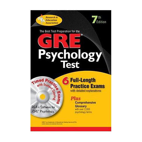 ISBN: 9780878913367, Title: GRE PSYCHOLOGY W/CD