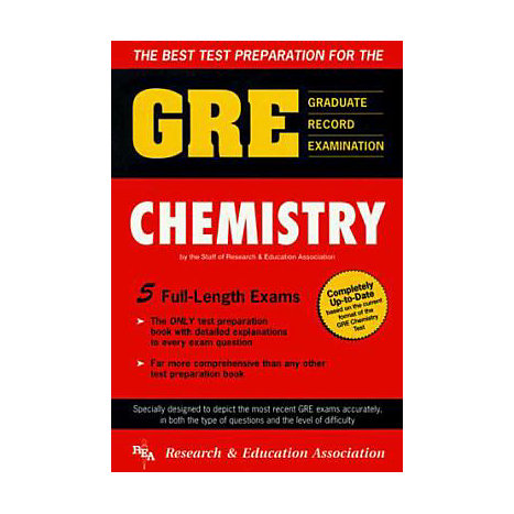 ISBN: 9780878916009, Title: GRE CHEMISTRY