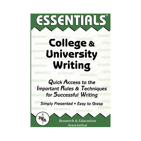 ISBN: 9780878919642, Title: COLLEGE & UNIVERSITY WRITING