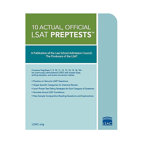 ISBN: 9780979305047, Title: 10 ACTUAL OFF LSAT PREPTEST