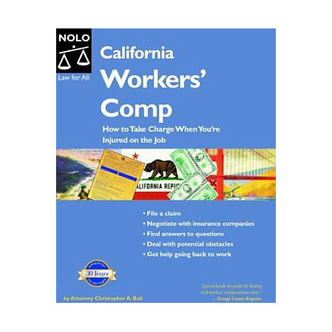 ISBN: 9781413300314, Title: California Workers' Comp: How to Take Charge When You're Injured on the Job
