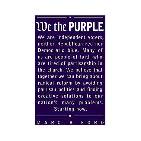 ISBN: 9781414317175, Title: We the Purple: Faith, Politics, and the Independent Voter