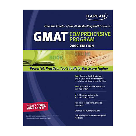 ISBN: 9781419552038, Title: 2009 GMAT COMPREHENSIVE PROGRA