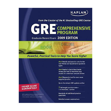 ISBN: 9781419552052, Title: 2009 GRE EXAM COMPREHENSIVE PR