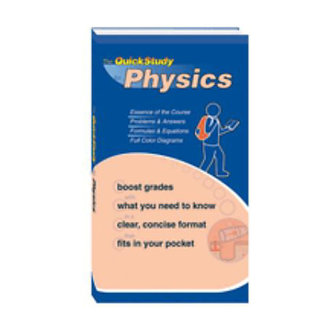 ISBN: 9781423202677, Title: PHYSICS QUICK STUDY