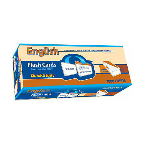 ISBN: 9781423203186, Title: ENGLISH FLASH CARDS