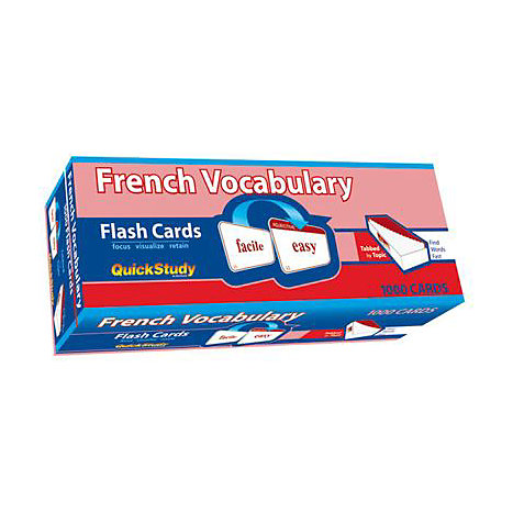 ISBN: 9781423203629, Title: FRENCH VOCAB FLASH CARDS