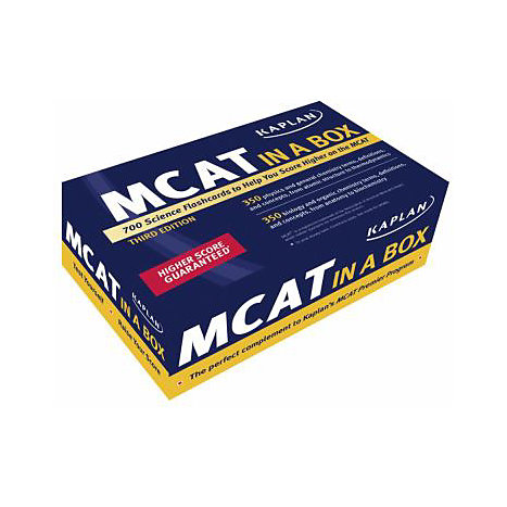 ISBN: 9781427797865, Title: MCAT IN A BOX 2E
