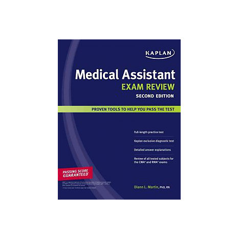 ISBN: 9781427798473, Title: MEDICAL ASSISTANT EXAM REVIEW