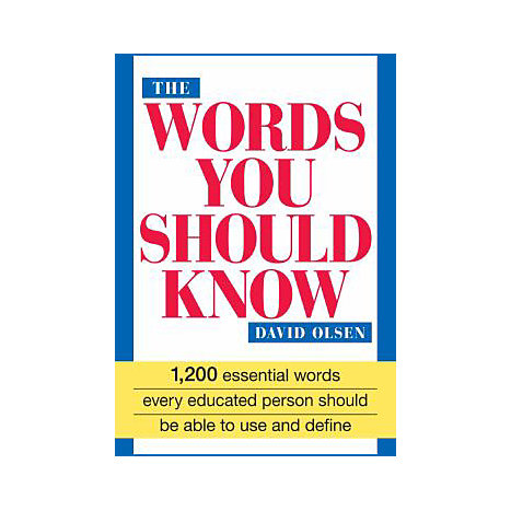ISBN: 9781558500181, Title: WORDS YOU SHOULD KNOW