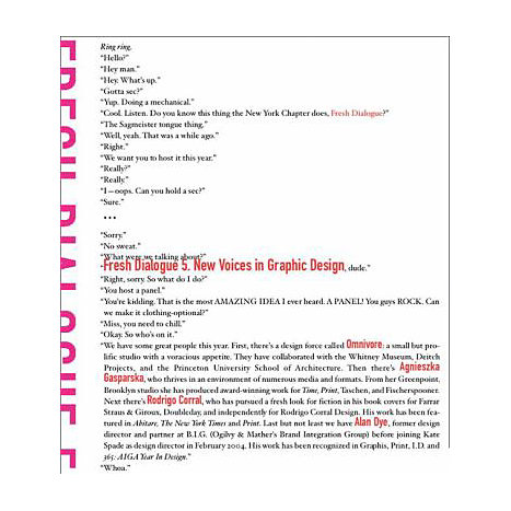 ISBN: 9781568985152, Title: Fresh Dialogue Five: New Voices in Graphic Design