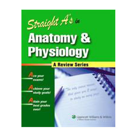 ISBN: 9781582555621, Title: STRAIGHT A ANAT AND PHYS