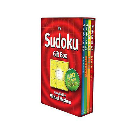 ISBN: 9781585677900, Title: SUDOKU  GIFT BOX SET