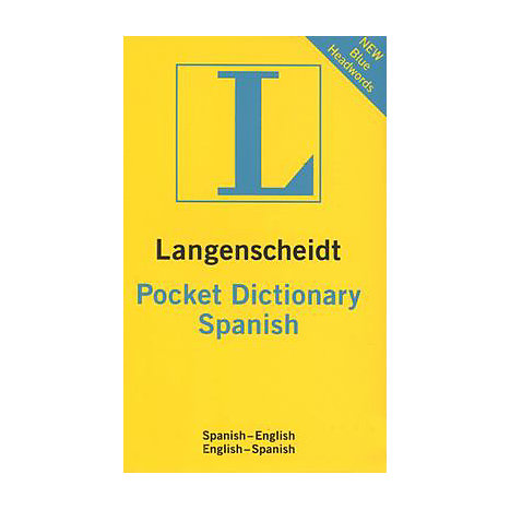 ISBN: 9781585735587, Title: SPANISH/ENGLISH (POCKET)