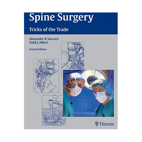 ISBN: 9781588905192, Title: Spine Surgery: Tricks of the Trade
