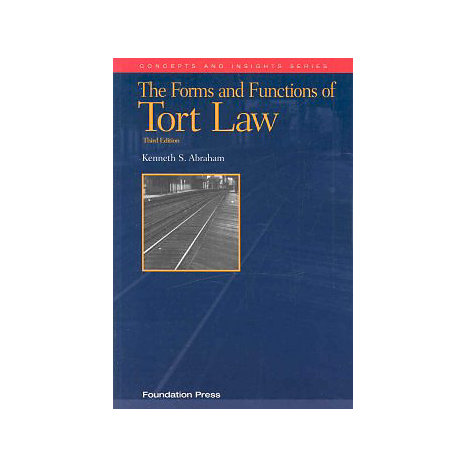 ISBN: 9781599412009, Title: FORM TORT LAW CI 3E
