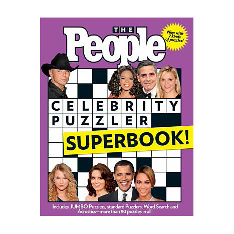 ISBN: 9781603208055, Title: CELEBRITY PUZZLER