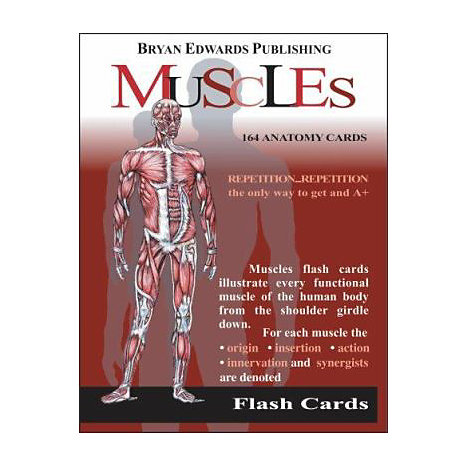 ISBN: 9781878576002, Title: MUSCLES FLASH CARDS