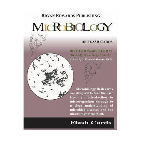 ISBN: 9781878576101, Title: Flash Cards for Microbiology