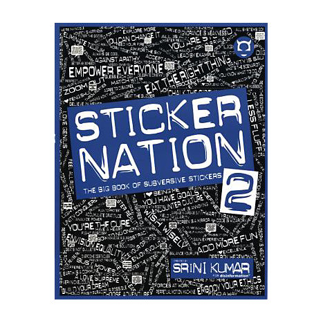 ISBN: 9781934708088, Title: Sticker Nation 2: The Big Book of Subversive Stickers [With Sticker(s)]