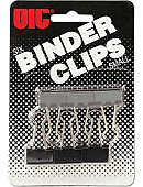 BINDERCLIP .75' 6CT