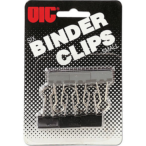 Product: BINDERCLIP .75' 6CT