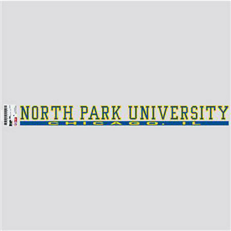 Product: North Park University Strip Decal