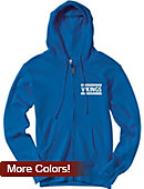 North Park University Vikings Women's Full Zip Hooded Sweatshirt