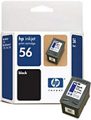 HEWLETT PACKARD INK CART HP 56 BLACK