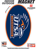 University of Texas San Antonio Roadrunners 3.5''x5.5'' Oval Magnet