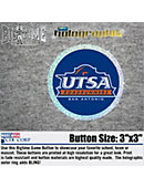 University of Texas San Antonio Roadrunners 3'' Mosaic Button
