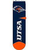 University of Texas San Antonio Roadrunners Thick Quarter Socks