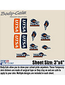 University of Texas San Antonio Body Decal