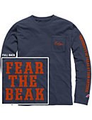 University of Texas San Antonio Vintage Washed Long Sleeve Pocket T-Shirt