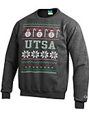 University of Texas San Antonio Ugly Sweater Crewneck Sweatshirt