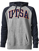 University of Texas San Antonio Tri-Blend Color Block Hooded Sweatshirt