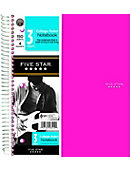 NOTEBOOK 3 SUBJECT 8x11 5 STAR TREND