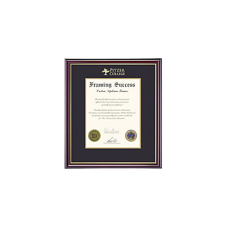Product: Pitzer College Diploma Frame Windsor