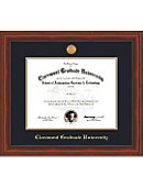 Claremont Graduate University Millenium PhD Diploma Frame -ONLINE ONLY