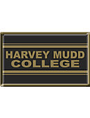 Harvey Mudd College 2.2' x 3.6' Dome Magnet