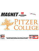 Pitzer College             4''x4'' Magnet