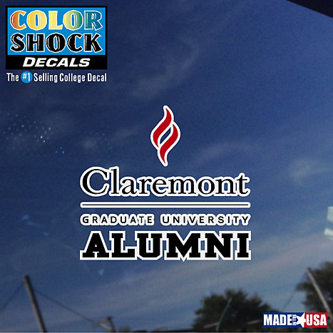 Product: Claremont Graduate University Decal Alumni