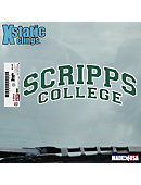 Scripps College          Cling Decal