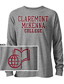 Claremont McKenna College Long Sleeve Victory Falls T-Shirt