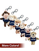 Gordon College Plush Keychain