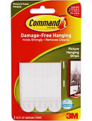 Command Medium Picture Hanging Strips 3 Sets of Strips