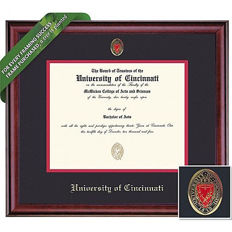 University of Cincinnati 14\'\' x 17\'\' Classic Diploma Frame ...
