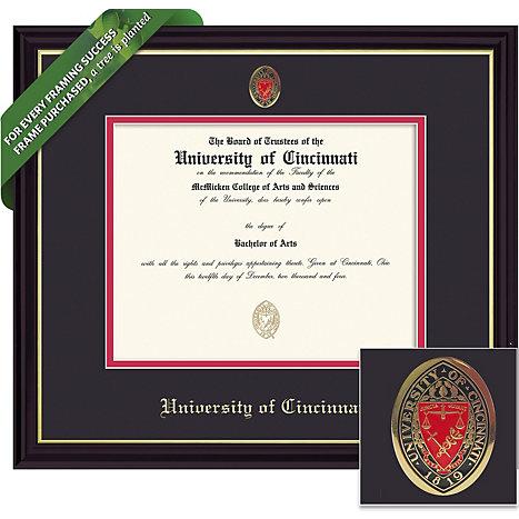 University of Cincinnati 8.5 x 11 Diploma Frame | University of ...