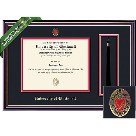 University of Cincinnati 8.5\'\' x 11\'\' Windsor Diploma Frame ...